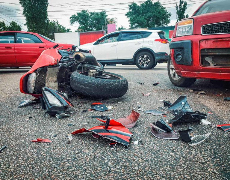 fault in a motorcycle accident in Chicago